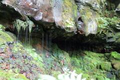 神谷の滝 上段 抉れ