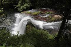 鱒返りの滝