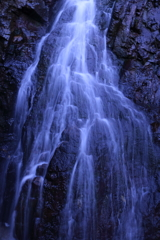 糸崎の無名滝 左瀑
