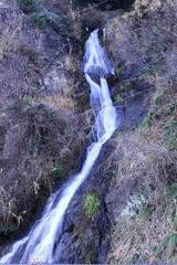 梅浦の無名滝1 上段正面