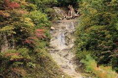 赤石の滝 上部