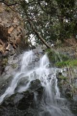 糸崎の無名滝 滝口
