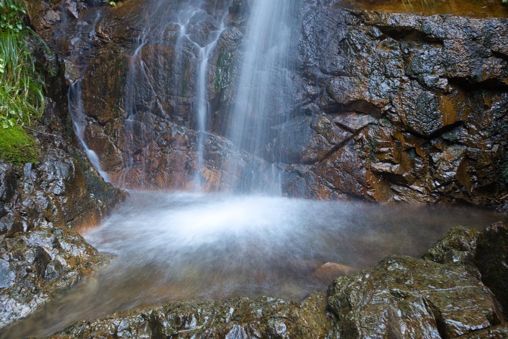 荒谷の滝 滝壺