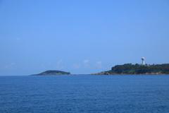 雄島と東尋坊タワー