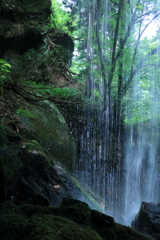 神谷の滝 裏見2