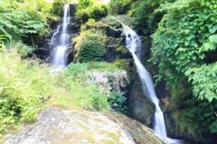 豊原の滝(全景)