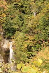 岩底の滝 全景