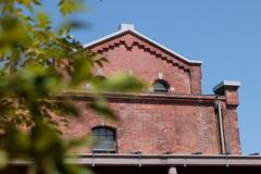 半田赤煉瓦建物