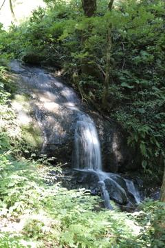 一乗滝 上流無名滝 全景