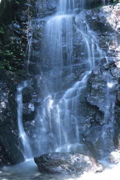 鳴滝 中段から滝壺