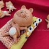 ゆとりの猫陶芸