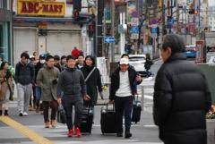 1 Day 1 (8 Jan.): Alta, Shinjuku St.