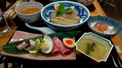麺割烹きさらぎ 真鯛とはまぐり2種のつけそば(鯛ごはん付)
