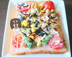 サラダトースト2