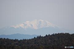 名残の冬景色(御嶽山)