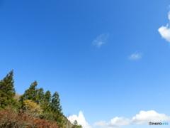 秋晴れ 山頂より
