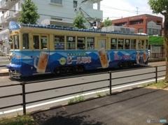 夏はビール電車!