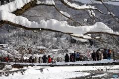 白川郷冬景色1