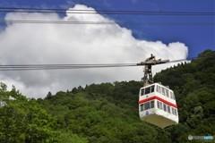新穂高ロープウェイ1(登る)