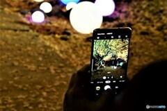 夜景を写す_