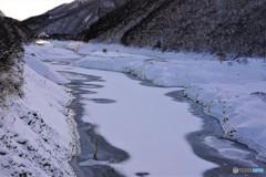 荘川冬景色4