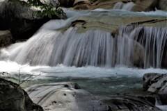 白髪の川_