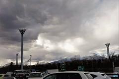 富士山が見える足柄SA