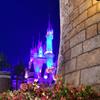 じりりりり~ん♪ …ディズニーランド夜の彩