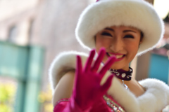 優しい笑顔 …冬の装い2018