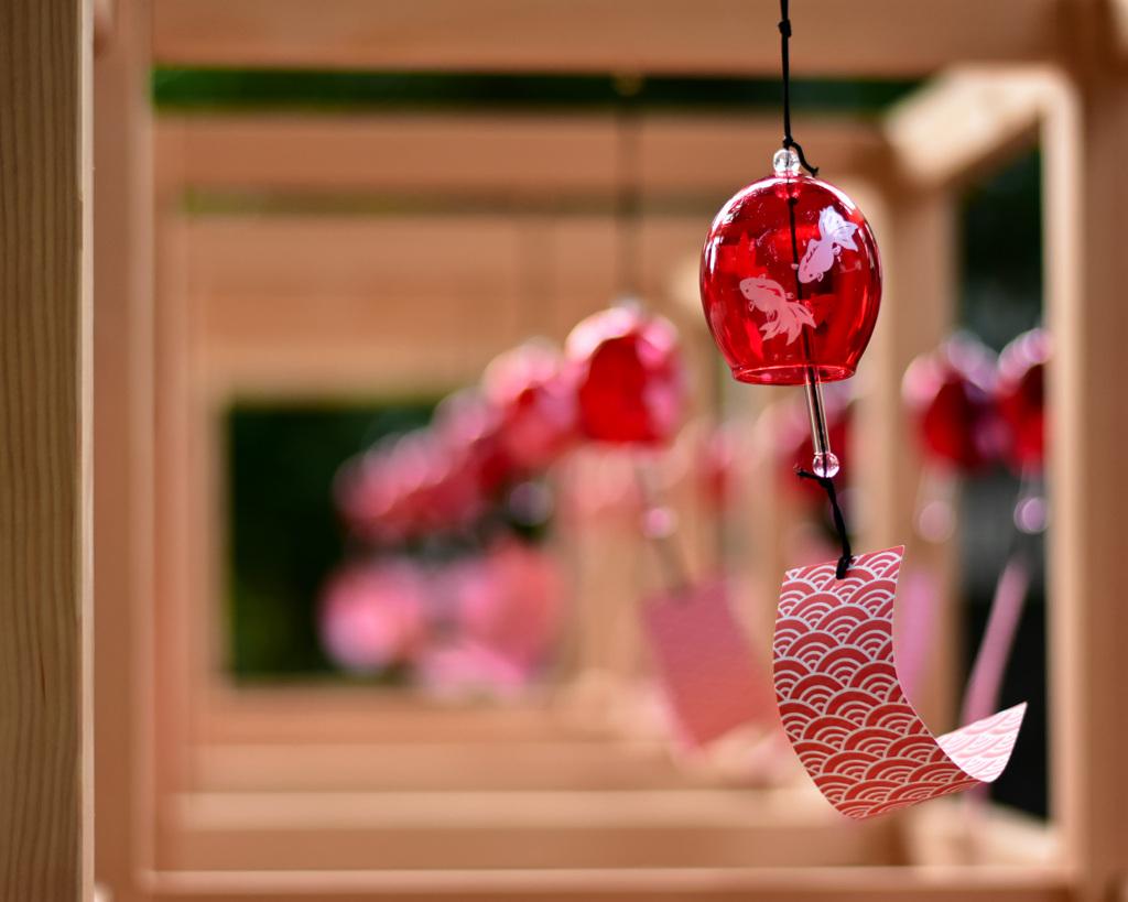 久伊豆神社の風鈴②