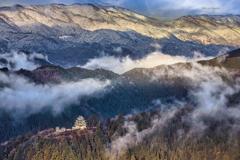 天空の八幡城☃️