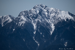 3月の甲斐駒ケ岳