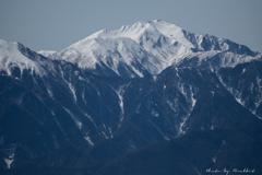 3月の仙丈ケ岳