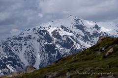 春の笠ヶ岳