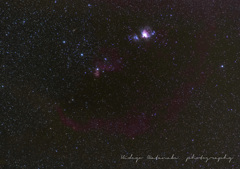 Orion, Barnard's Loop