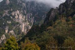 初秋の瑞牆山
