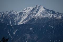 3月の北岳