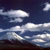 雲と富士山 2002年1月