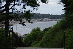 海を見晴らす景色