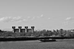 荒川の午後