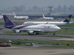 タイ航空ジャンボ