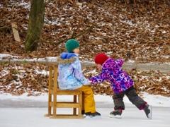 屋外スケート場