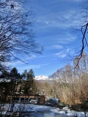 ケラ池に広がる空