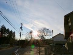 彩雲の兆し