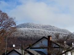 今朝の離山