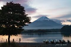 魅了する富士山