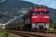 赤い機関車とカシオペア