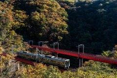秘境 松川橋梁