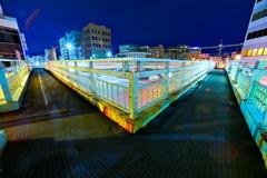 夜の歩道橋1