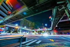 夜の歩道橋4